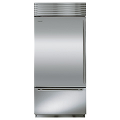 Over-And-Under Refrigerator With Freezer Drawer